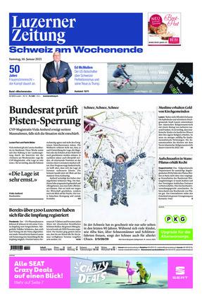 Luzerner Zeitung (16.01.2021)