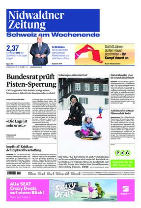 Nidwaldner Zeitung (16.01.2021)
