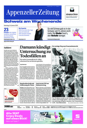 Appenzeller Zeitung (16.01.2021)