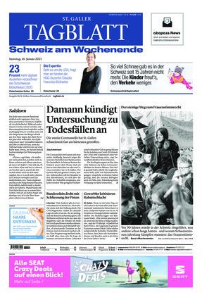 St. Galler Tagblatt (16.01.2021)