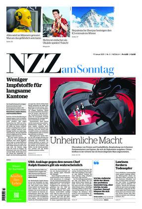 NZZ am Sonntag (17.01.2021)
