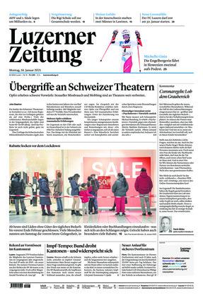 Luzerner Zeitung (18.01.2021)