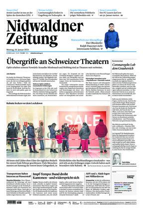Nidwaldner Zeitung (18.01.2021)