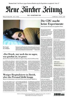 Neue Zürcher Zeitung (18.01.2021)