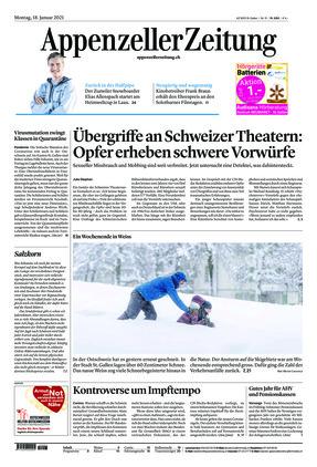 Appenzeller Zeitung (18.01.2021)