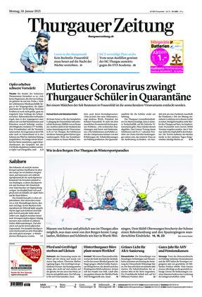 Thurgauer Zeitung (18.01.2021)