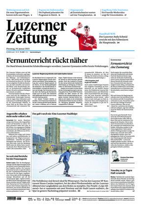 Luzerner Zeitung (19.01.2021)