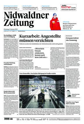 Nidwaldner Zeitung (19.01.2021)