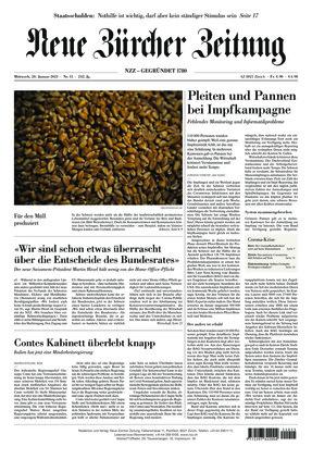 Neue Zürcher Zeitung (20.01.2021)
