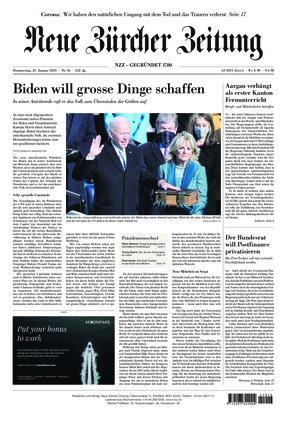 Neue Zürcher Zeitung (21.01.2021)