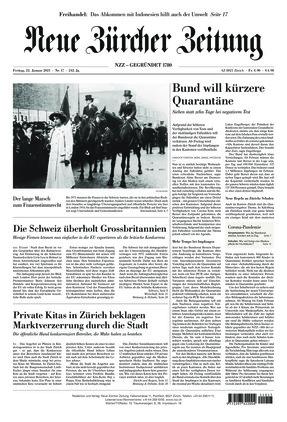 Neue Zürcher Zeitung (22.01.2021)