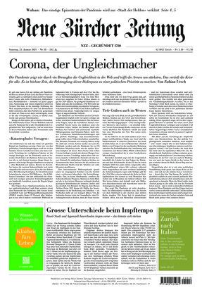 Neue Zürcher Zeitung (23.01.2021)