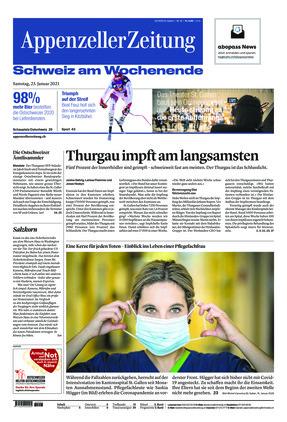 Appenzeller Zeitung (23.01.2021)