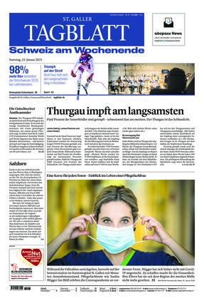 St. Galler Tagblatt (23.01.2021)