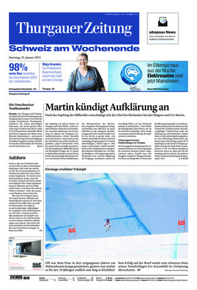 Thurgauer Zeitung (23.01.2021)