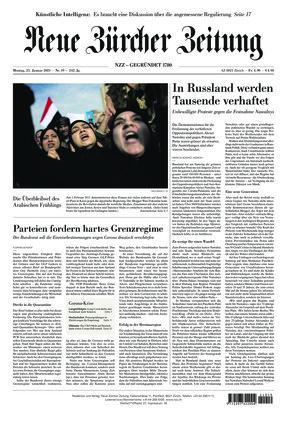 Neue Zürcher Zeitung (25.01.2021)
