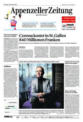 Appenzeller Zeitung (25.01.2021)