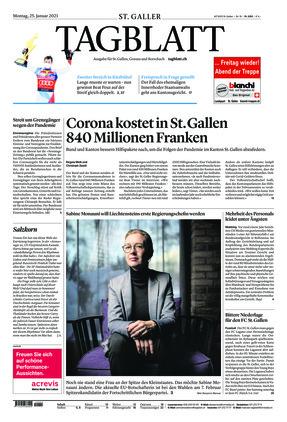 St. Galler Tagblatt (25.01.2021)
