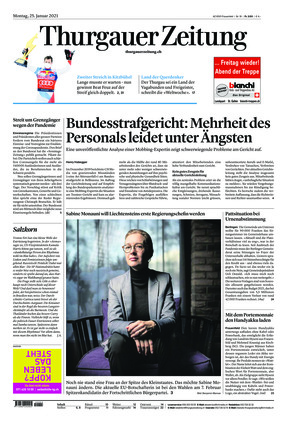 Thurgauer Zeitung (25.01.2021)
