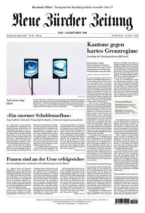Neue Zürcher Zeitung (26.01.2021)