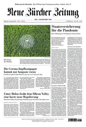 Neue Zürcher Zeitung (27.01.2021)