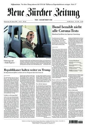 Neue Zürcher Zeitung (28.01.2021)