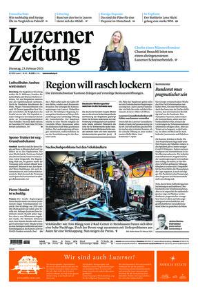 Luzerner Zeitung (23.02.2021)