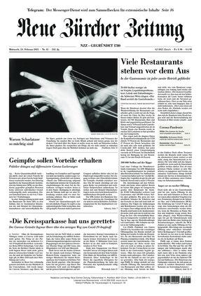 Neue Zürcher Zeitung (24.02.2021)