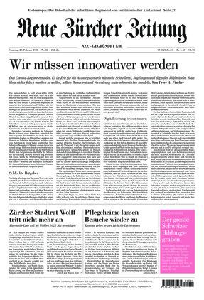 Neue Zürcher Zeitung (27.02.2021)