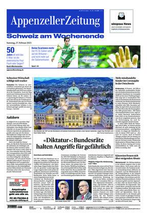 Appenzeller Zeitung (27.02.2021)