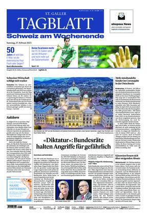 St. Galler Tagblatt (27.02.2021)