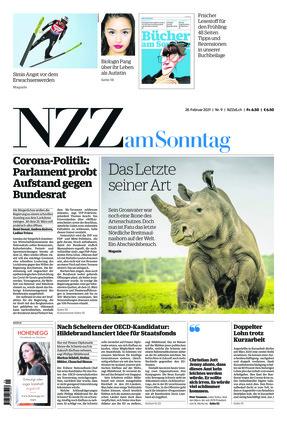 NZZ am Sonntag (28.02.2021)