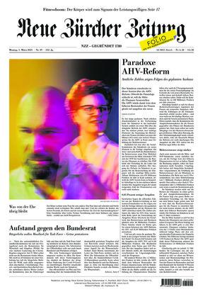 Neue Zürcher Zeitung (01.03.2021)