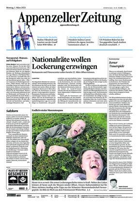Appenzeller Zeitung (01.03.2021)