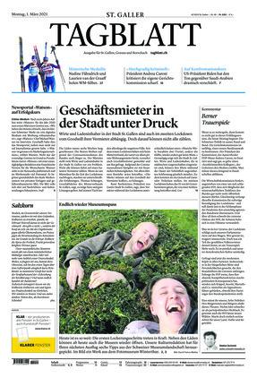 St. Galler Tagblatt (01.03.2021)