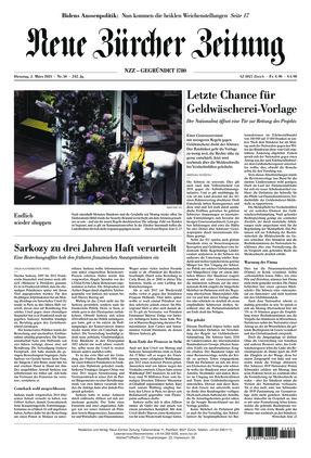 Neue Zürcher Zeitung (02.03.2021)