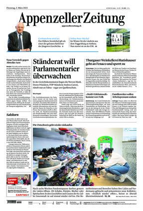 Appenzeller Zeitung (02.03.2021)