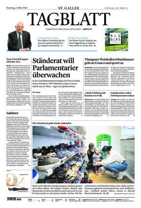 St. Galler Tagblatt (02.03.2021)