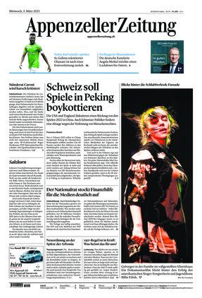 Appenzeller Zeitung (03.03.2021)