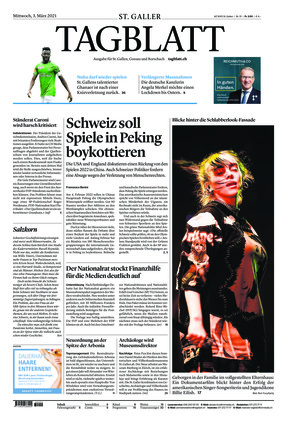 St. Galler Tagblatt (03.03.2021)