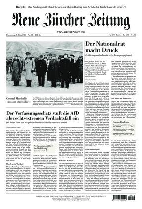 Neue Zürcher Zeitung (04.03.2021)