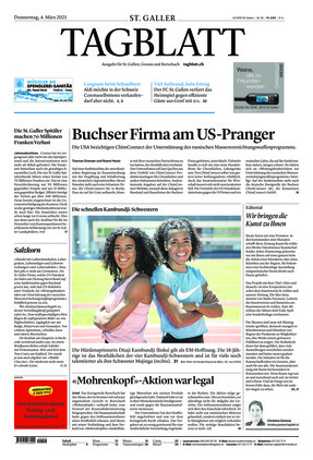 St. Galler Tagblatt (04.03.2021)