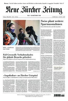 Neue Zürcher Zeitung (05.03.2021)