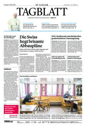 St. Galler Tagblatt (05.03.2021)