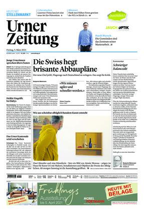 Urner Zeitung (05.03.2021)