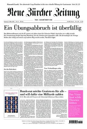 Neue Zürcher Zeitung (06.03.2021)