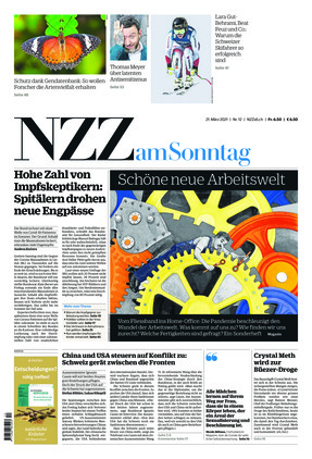 NZZ am Sonntag (21.03.2021)
