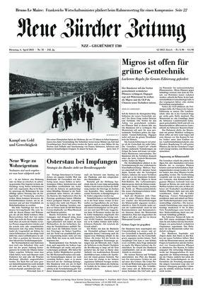 Neue Zürcher Zeitung (06.04.2021)