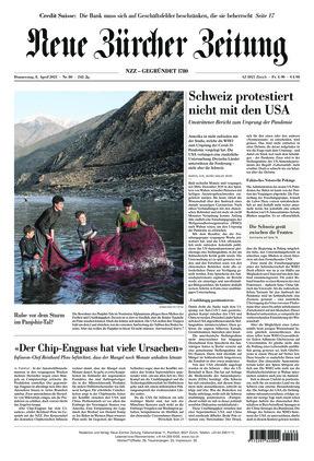Neue Zürcher Zeitung (08.04.2021)