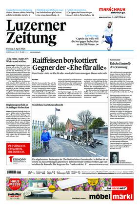 Luzerner Zeitung (09.04.2021)